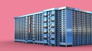 Megastay Hotel 3d model