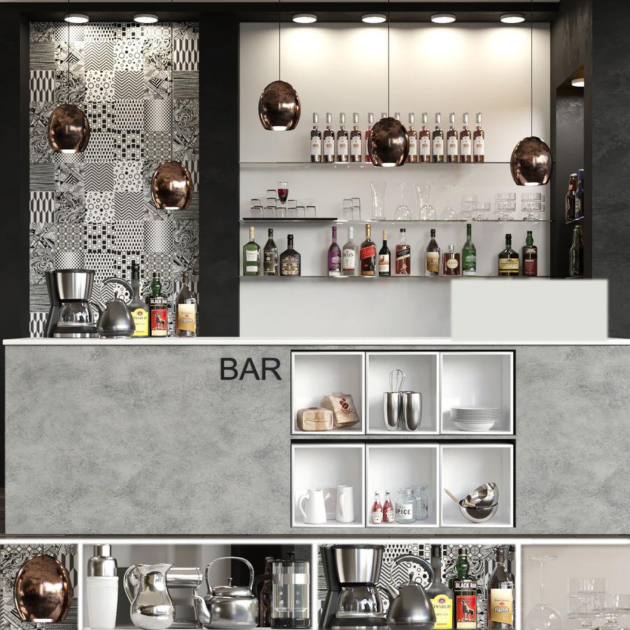 Bar Alkohol 13 royalty-free 3d model - Preview no. 1