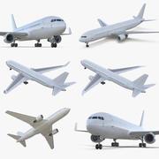 보잉 767 컬렉션 3d model