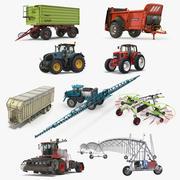 Çiftlik Ekipman Koleksiyonu 3 3d model