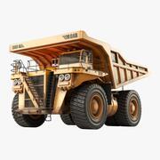 Big Dump Truck(1) 3d model