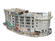 The building is under construction 3d model