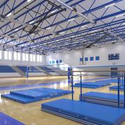Баскетбольный и гимнастический зал 3d model