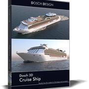 Dosch 3D - Bateau de croisière 3d model