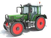 Fendt jordbrukstraktor 3d model