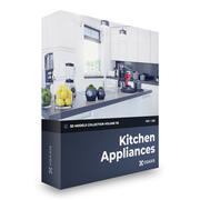 Kitchen Appliances 3D Models Collection Volume 116 FBX OBJ 3d model