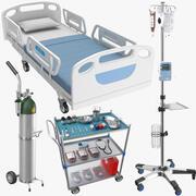 Dört Tıp Ekipmanı (2) 3d model