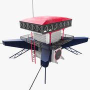 Edificio de alta tecnología 0.2 modelo 3d