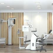 Tageslicht in der Zahnarztpraxis 3d model