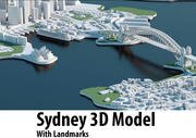 Sydney 3D City 3d model