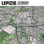 Lipsia Germania 3d model