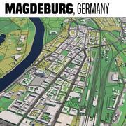 Magdeburgo in Germania 3d model