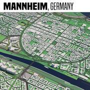 Mannheim Germania 3d model