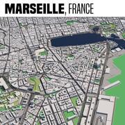 Marselha França 3d model