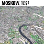 Moscou, Russie 3d model