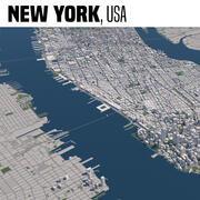 New York New York USA 3d model