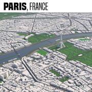 Parijs, Frankrijk 3d model