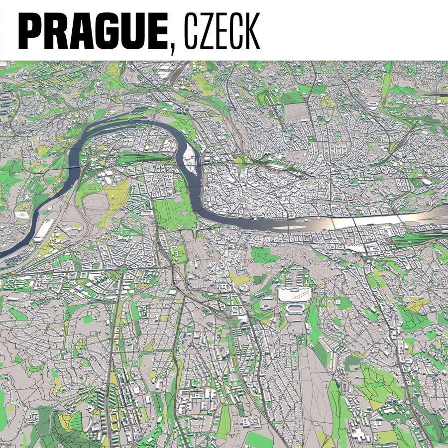 Prague Tchéquie royalty-free 3d model - Preview no. 1