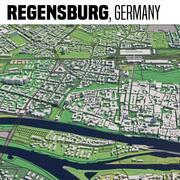 Regensburg Germania 3d model