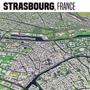 Estrasburgo França 3d model