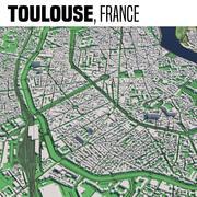 Toulouse France 3d model