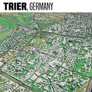 Treviri in Germania 3d model