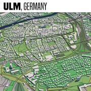 Ulm Germania 3d model
