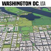 Вашингтон, округ Колумбия, США 3d model