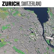 Zurich Switzerland 3d model