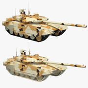 Collection T-90 MS Désert 3d model