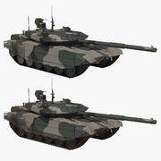 Coleção regular T-90 MS 3d model