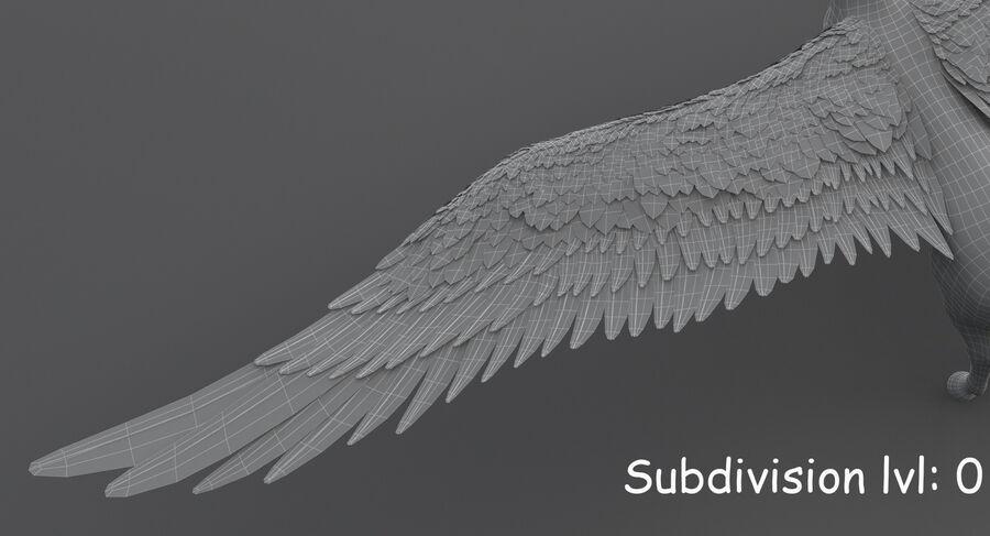페가수스 royalty-free 3d model - Preview no. 20