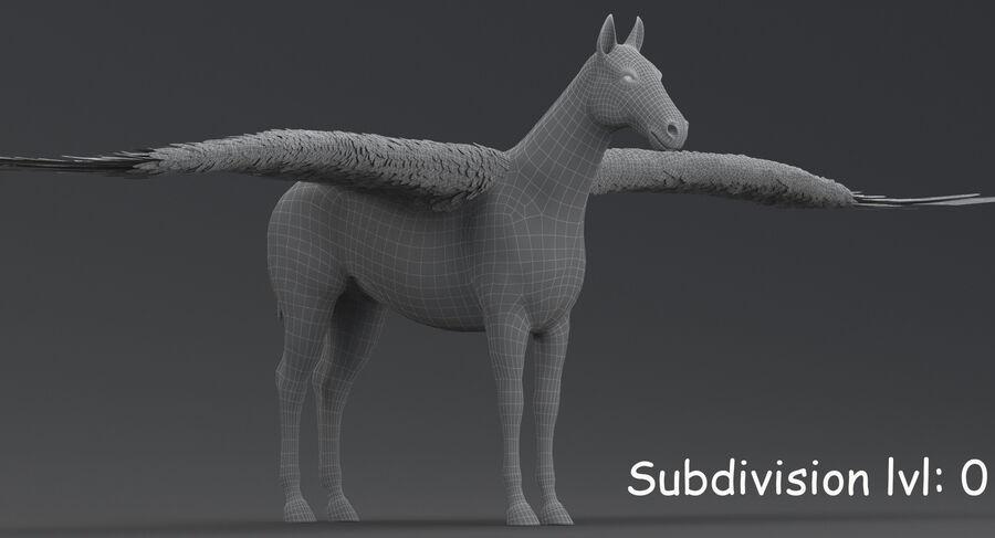 Pegasus royalty-free 3d model - Preview no. 16
