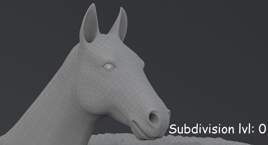 페가수스 royalty-free 3d model - Preview no. 18