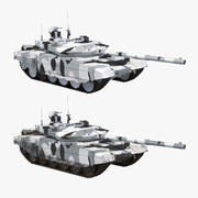 T-90 MS Wintercollectie 3d model