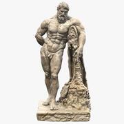 Escultura de Farnese Hércules 3d model
