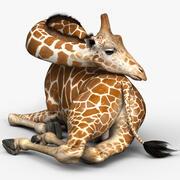 Giraffe PRO 3d model