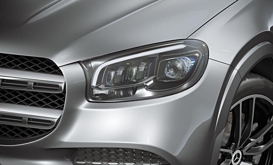 2020 Mercedes-Benz GLS royalty-free 3d model - Preview no. 8