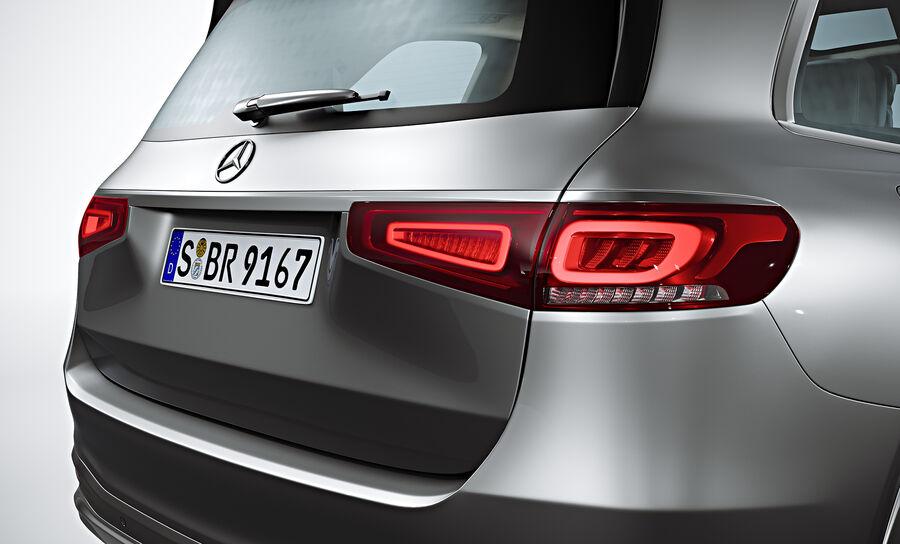 2020 Mercedes-Benz GLS royalty-free 3d model - Preview no. 9