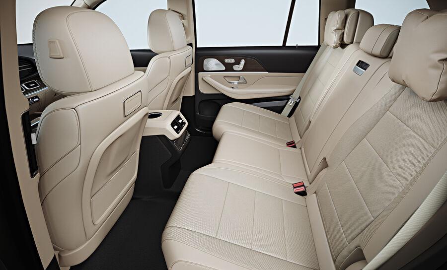 2020 Mercedes-Benz GLS royalty-free 3d model - Preview no. 14