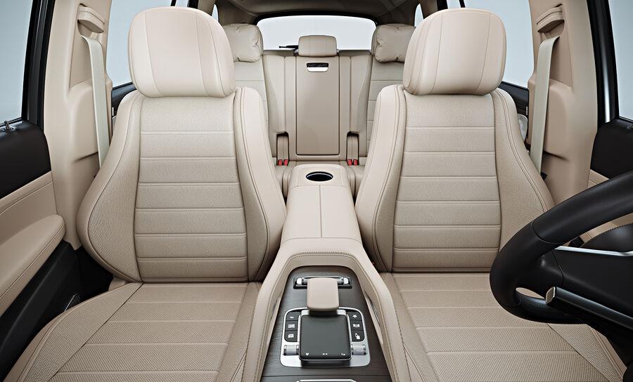 2020 Mercedes-Benz GLS royalty-free 3d model - Preview no. 15