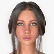 Donna Audreyana 3d model