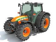 Stara traktor 3d model