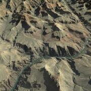 大峡谷3D 3d model