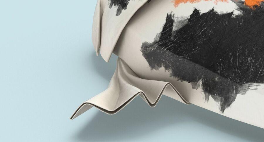 Origami djur samling royalty-free 3d model - Preview no. 7