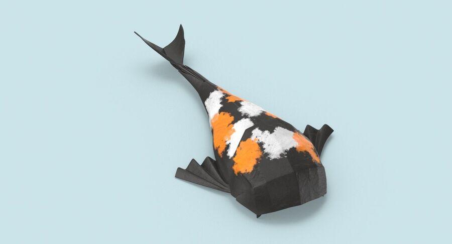 Origami djur samling royalty-free 3d model - Preview no. 59