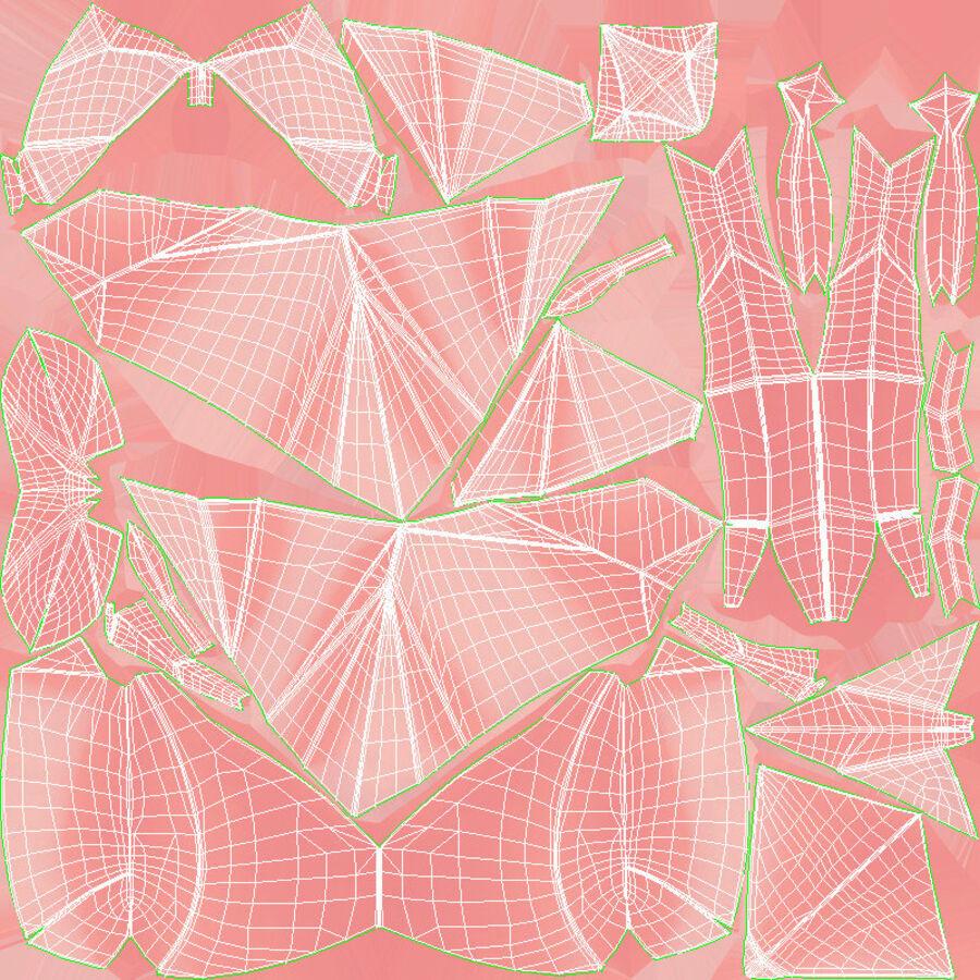Origami djur samling royalty-free 3d model - Preview no. 38