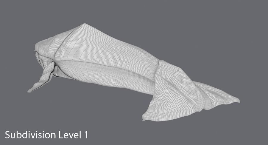 Origami djur samling royalty-free 3d model - Preview no. 22