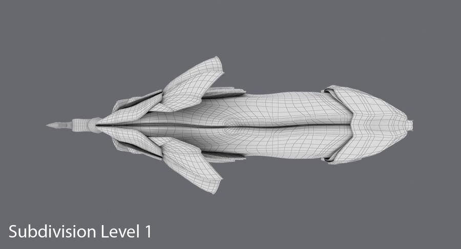 Origami djur samling royalty-free 3d model - Preview no. 43
