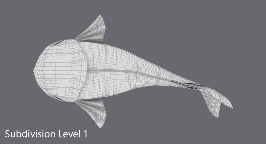 Origami djur samling royalty-free 3d model - Preview no. 9
